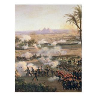 Carte Postale Bataille des pyramides, le 21 juillet 1798, 1806