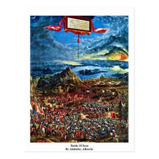 Carte Postale Bataille d'Issus par Altdorfer, Albrecht