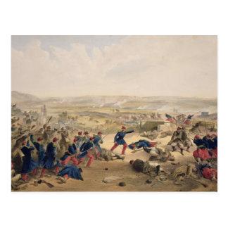 Carte Postale Bataille du Tchernaya, le 16 août 1855, plat f