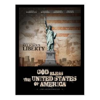 Carte Postale Bataille pour la liberté religieuse