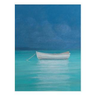 Carte Postale Bateau blanc Kilifi 2012