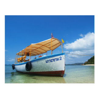 Carte Postale bateau de voyage