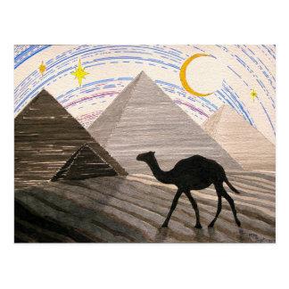 Carte Postale Bateau du désert