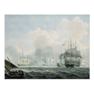 Carte Postale Bateaux anglais de guerre