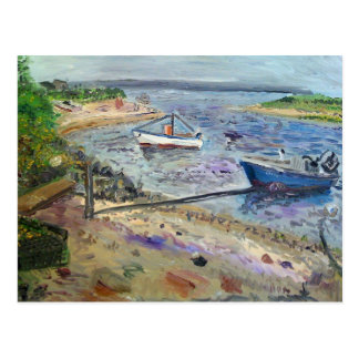 Carte Postale bateaux au napeaque, le Hamptons