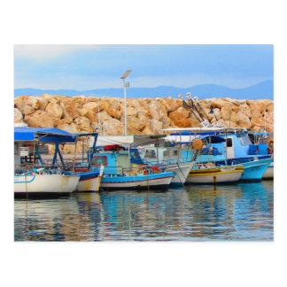 Carte Postale Bateaux de pêche chypriotes