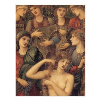 Carte Postale Bath de Vénus par monsieur Edouard Coley Burne