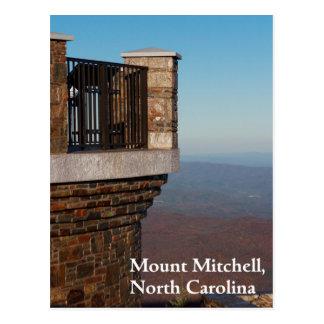 Carte Postale Bâti Mitchell, la Caroline du Nord