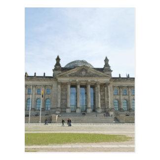 Carte Postale Bâtiment de Reichstag à Berlin