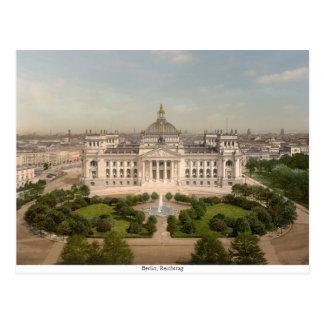 Carte Postale Bâtiment de Reichstag, Berlin Allemagne