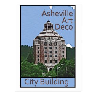 Carte Postale Bâtiment de ville, Asheville