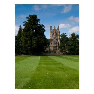 Carte Postale Bâtiment d'université d'Oxford