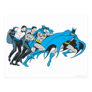 Carte Postale Batman/transformation de Bruce