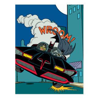 Carte Postale Batmobile Wroom !