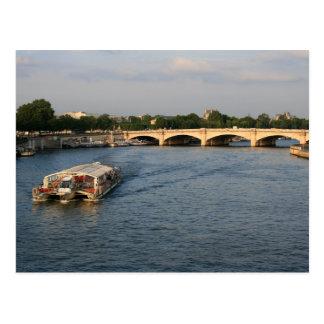 Carte Postale Batobus chez Pont de la Concorde