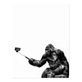 Carte Postale bâton de selfie