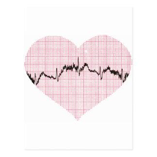 Carte Postale Battement de coeur III