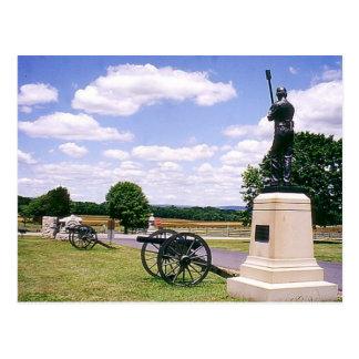 Carte Postale Batterie de Hampton - Gettysburg
