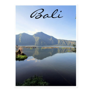 Carte Postale batur Bali de lac