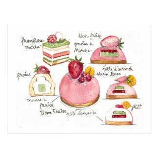 Carte Postale Bavoirois rose