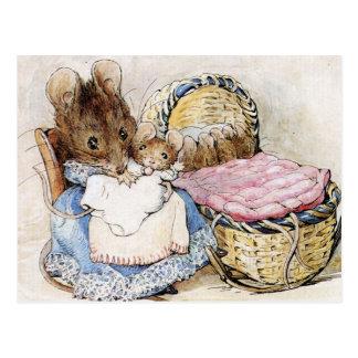 Carte Postale Beatrix Potter, livres de l'histoire des enfants,