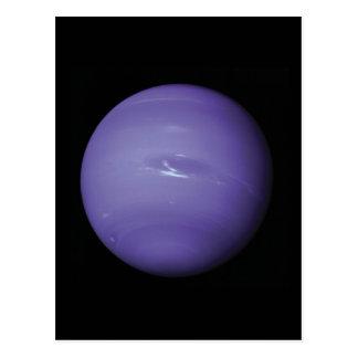 Carte Postale Beau Neptune bleu, comme vu de l'espace, la NASA