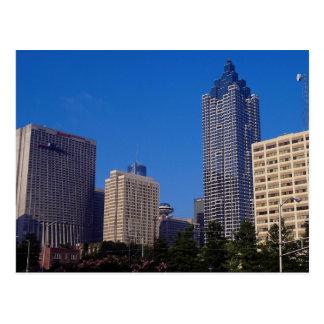 Carte Postale Beaucoup d'hôtels modernes, Atlanta, la Géorgie,