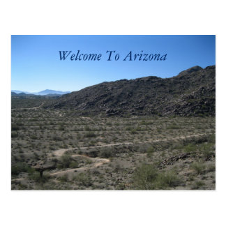 Carte Postale Beauté de désert de l'Arizona