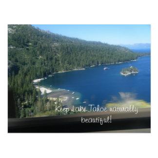 Carte Postale Beauté du lac Tahoe