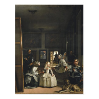 Carte Postale Beaux-arts de Las Meninas Diego Velázquez