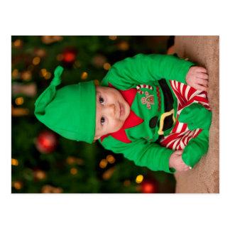 Carte Postale Bébé Elf