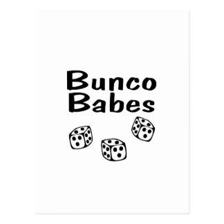 Carte Postale Bébés de Bunco