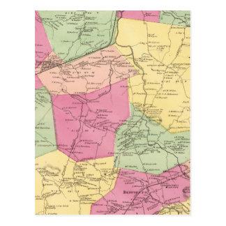 Carte Postale Bedford, ville