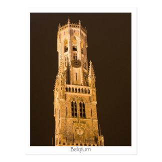 Carte Postale Beffroi à Bruges