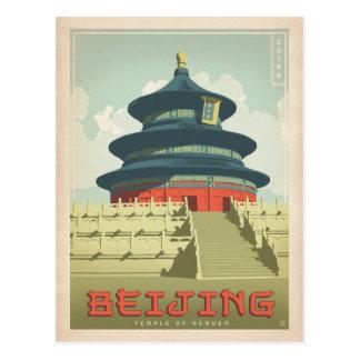 Carte Postale Bejing, Chine