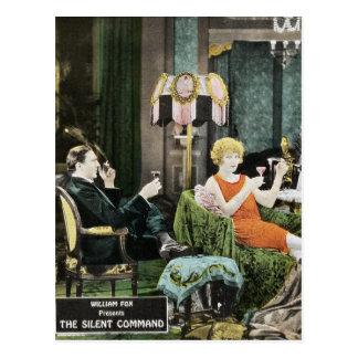 Carte Postale Bela Lugosi - la commande silencieuse