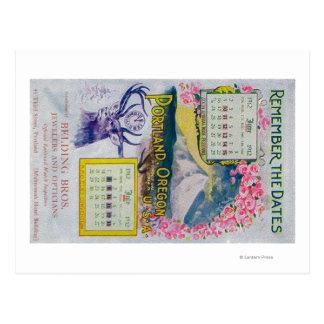 Carte Postale Belding Bros. Publicité de bijoutiers