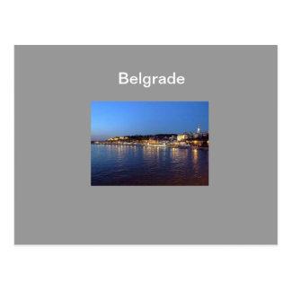 carte postale Belgrade