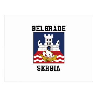 Carte Postale Belgrade Serbie
