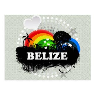 Carte Postale Belize fruité mignon