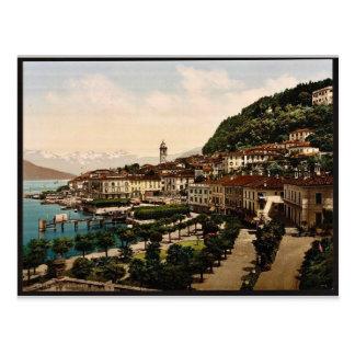 Carte Postale Bellagio, vue générale, Como, lac de, vinta de