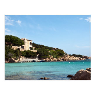 Carte Postale belle côte en Sardaigne 1