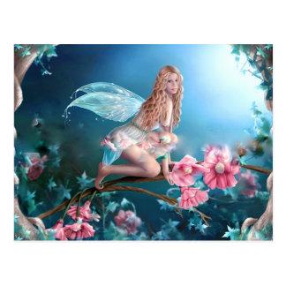 Carte Postale Belle princesse féerique