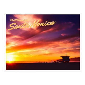 Carte Postale Belle Santa Monica