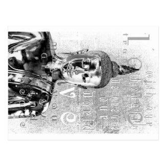 Carte Postale Bénédiction de Bouddha