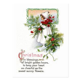 Carte Postale Bénédiction de Noël