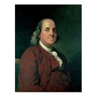 Carte Postale Benjamin Franklin, 1782