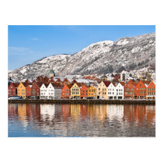 Carte Postale Bergen