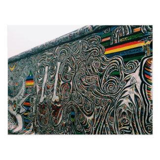 Carte Postale Berlin : Murs et visages