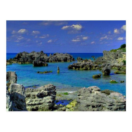 Carte Postale Bermuda - Rocky Landform